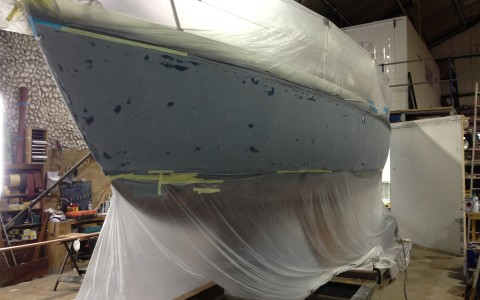 Primer coat on Southerly 28